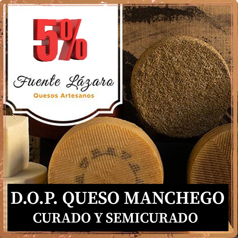 Oferta quesos do manchego